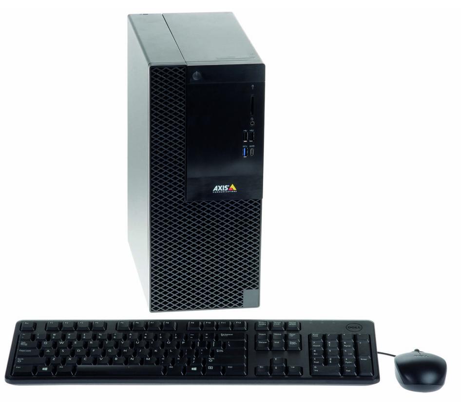Axis S1116 8ª generación de procesadores Intel® Core™ i5 8400 8 GB Unidad de disco duro Negro Puesto de trabajo