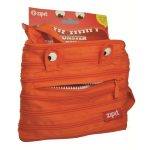 CLEARANCE ZIPIT MINI SHOULDER BAG ZIPIT 21x19cm MONSTER ORANGE(EACH)