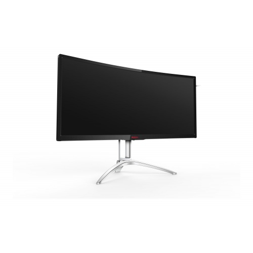 "AOC AG352QCX 35"" LED Matt Curved Black, Silver computer monitor"
