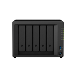 Synology DiskStation DS1019+ NAS/storage server Tower Ethernet LAN Black J3455
