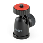 "Joby BallHead 1K 1/4"" Ball Black, Red tripod head"