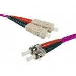Hypertec 392545-HY fibre optic cable 20 m SC ST OM4 Pink