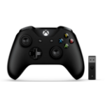 Microsoft Xbox Controller + Wireless Adapter Gamepad PC,Xbox One,Xbox One S,Xbox One X Black