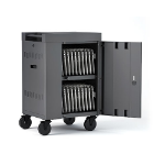 Bretford TVCM20PAC-CK portable device management cart & cabinet Charcoal