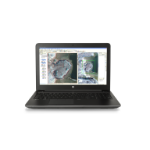 "HP ZBook 15 G3 2.6GHz i7-6700HQ 15.6"" 1920 x 1080Pixels Zwart Mobiel werkstation"