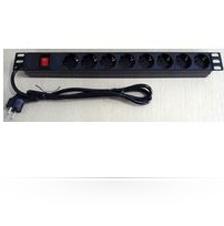 Microconnect CABINETACC23 8AC outlet(s) 1U Black power distribution unit (PDU)ZZZZZ], CABINETACC23