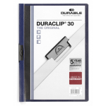 Durable DURACLIP PVC Blue folder