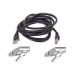 Belkin Patch cable - RJ-45(M) - RJ-45(M) - 10m ( CAT 5e ) - black