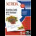Xerox INKJET Glossy Greeting Cards (X10 Sets)