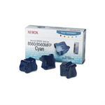 108R00723 - Pack of 3 CYAN XEROX ink sticks for Phaser 8560 (3,400 pages)