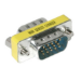 C2G HD15 VGA Mini Changer VGA (D-Sub) Plata