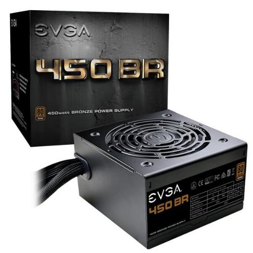 EVGA 450 BR power supply unit 450 W 24-pin ATX ATX Black