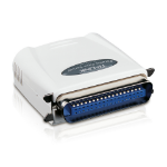 TP-LINK Single Parallel Port Fast Ethernet print server Ethernet LAN
