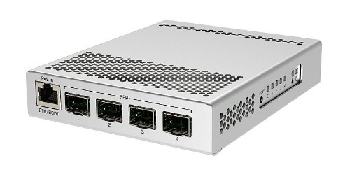Mikrotik CRS305-1G-4S+IN network switch Managed Gigabit Ethernet (10/100/1000) White Power over Ethernet (PoE)