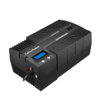 CyberPower BR1200ELCD Line-Interactive 1.2 kVA 720 W 8 AC outlet(s)