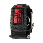 Urban Armor Gear 19148A114040 smartwatch-accessoire Band Zwart Nylon, Roestvrijstaal
