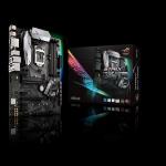 ASUS Intel Socket 1151, Intel H270, Aura Sync RGB LEDs, 4xDDR4, Intel I219V Gigabit LAN ATX Gaming Mother