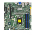 Supermicro MBD-X12SCZ-TLN4F server-/werkstationmoederbord LGA 1200 (Socket H5) micro ATX