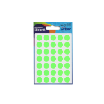 Avery Coloured Labels Round 12mm DIA GR (245 Labels) PK10