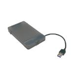 "LogiLink AU0037 storage drive enclosure 2.5"" HDD/SSD enclosure Grey"