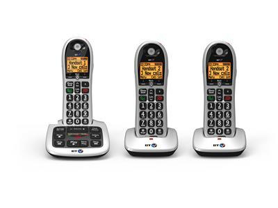 British Telecom BT4600 Advanced Nuisance Call Blocker - Trio Black, White Caller ID