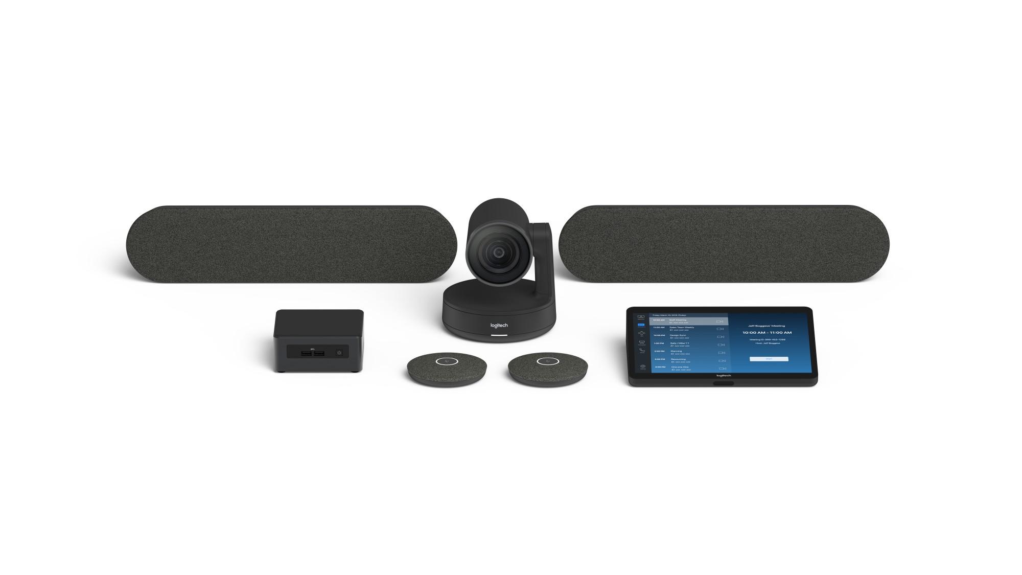 Logitech Tap Large Bundle - Zoom video conferencing system Group video conferencing system