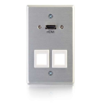 C2G 60160 Aluminium wall plate/switch cover