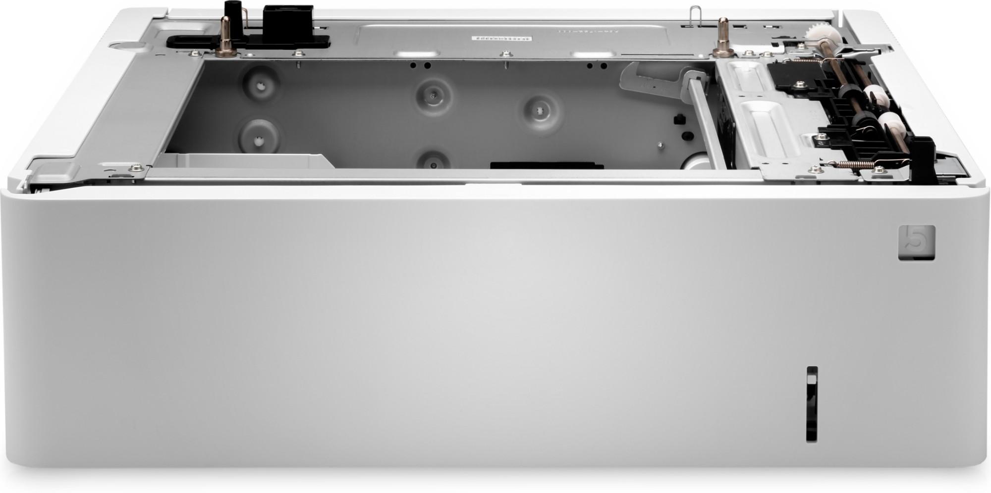 HP LaserJet Bandeja de soportes de 550 hojas Color