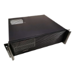 TGC Rack Mountable Server Chassis 3U 380mm Depth, 2x Ext 5.25' Bays, 7-8x Int 3.5' Bays, 4x Full Height