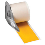 Brady 142364 label-making tape Black on yellow