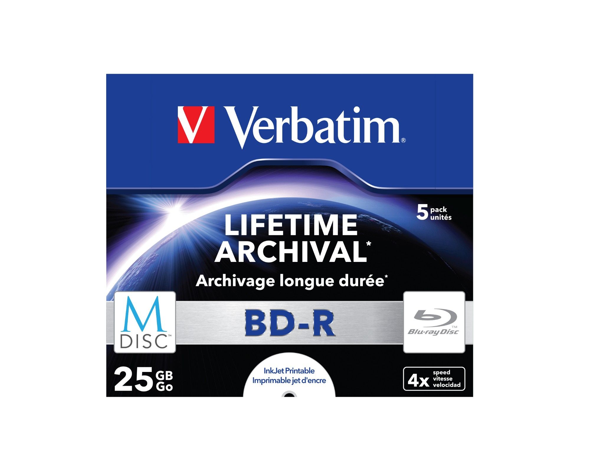 Verbatim M-Disc 4x BD-R 25GB 5pc(s)
