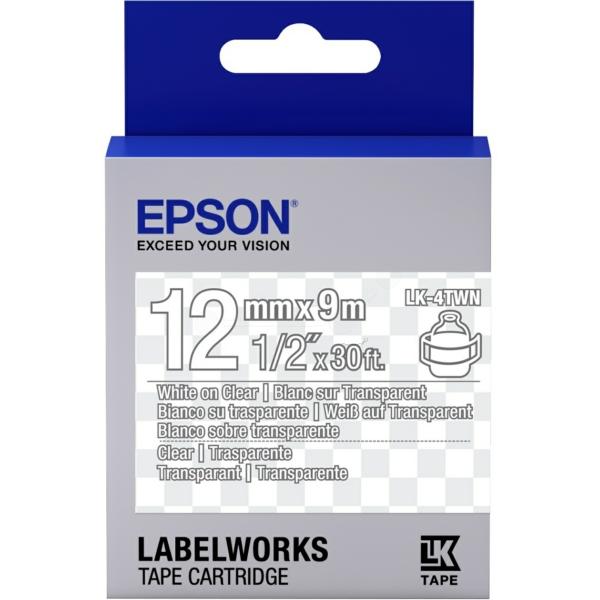 Epson C53S654013 (LK-4TWN) Ribbon, 9mm x 9m