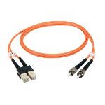 """Black Box EFN110-002M-SCLC fiber optic cable 78.7"""" (2 m) LC SC Orange"""