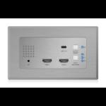 Blustream HEX31WP-TX AV extender AV transmitter Stainless steel