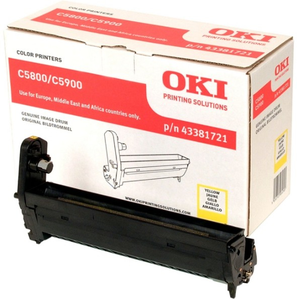 OKI 43381721 tambor de impresora Original
