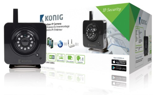 König SAS-IPCAM100BU security camera