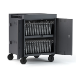 Bretford TVC32PAC-CK portable device management cart & cabinet Charcoal