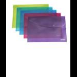 Rapesco Bright Popper Wallet report cover Polypropylene (PP)