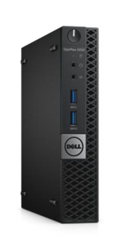 DELL OptiPlex 5050 2.70GHz i5-7500T 1.2L sized PC Black Mini PC