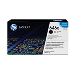 HP 646X originele high-capacity zwarte LaserJet tonercartridge