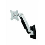 Amer AMR1AW Black, Silver flat panel wall mount