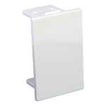 Cablenet LJ6C Blank 25mm x 38.5mm White