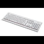Fujitsu KB521 DE keyboard USB QWERTZ German Grey