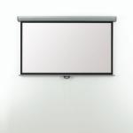 Metroplan Eyeline Manual Wall Screen 16:9 Black,White projection screenZZZZZ], EMW24W