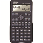 Aurora AX-595TV calculator Pocket Scientific Black