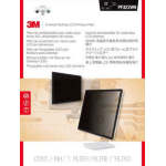 """3M PF220W9F 22"""" Monitor Framed display privacy filter"""