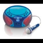Lenco SCD-650 blue radio Portable