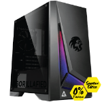 Gorilla Gaming Killer Gorilla Lite Signature Edition - Ryzen 5 2600 3.4Ghz, 8GB RAM, 480GB SSD, RX 570 8GB