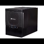 Silverstone SG10 Cube Black computer case