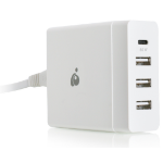 iogear GPAWC72W mobile device charger Indoor White